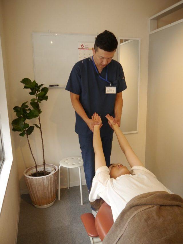 3.お体の歪みや動きを確認
